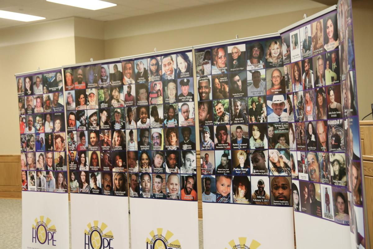 Victims of violent crimes remembered with Christmas ornament hanging