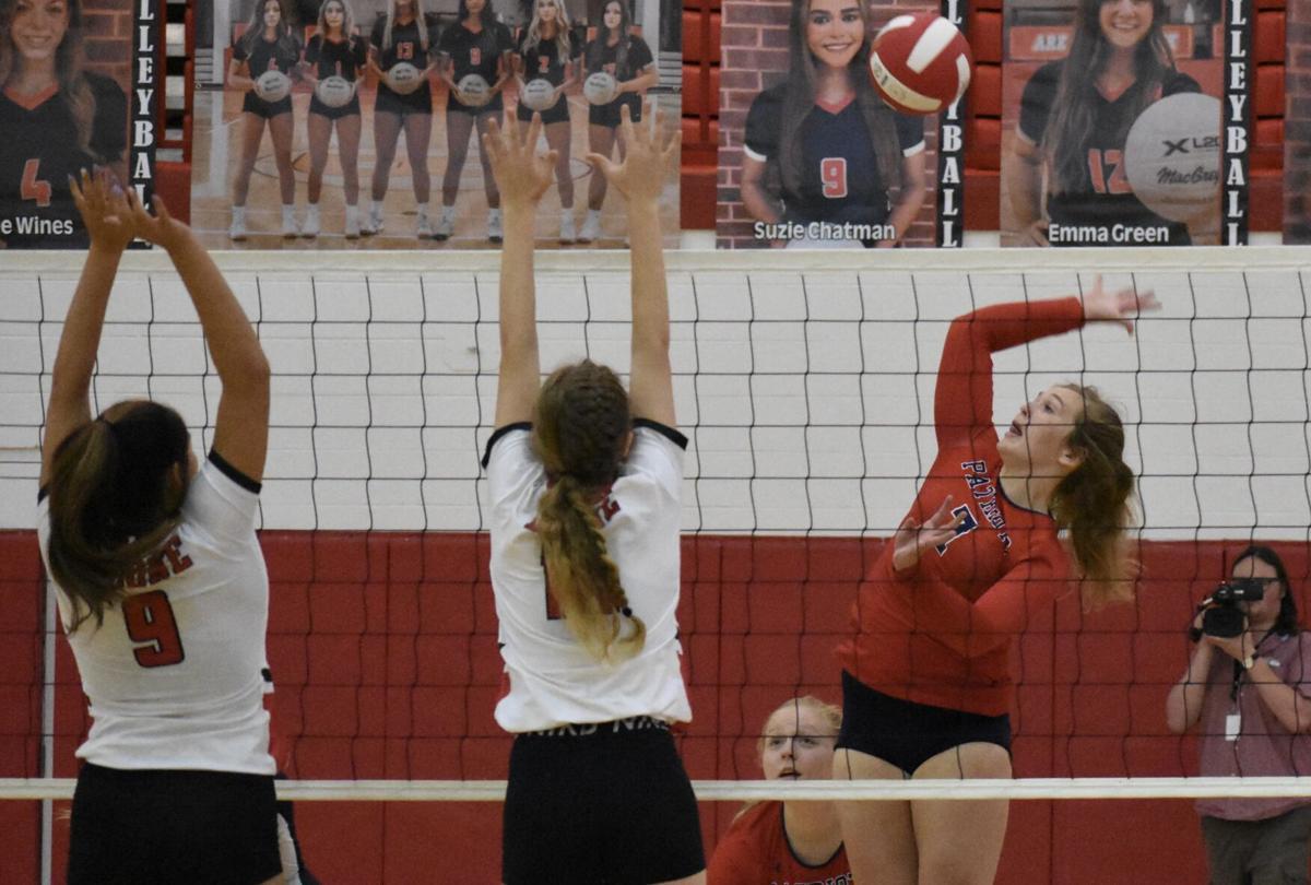 Jenna Hare volleyball