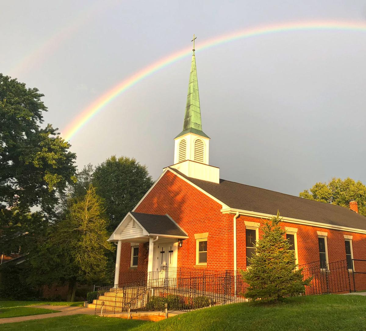 Did you catch the rainbow? Send us your photos!