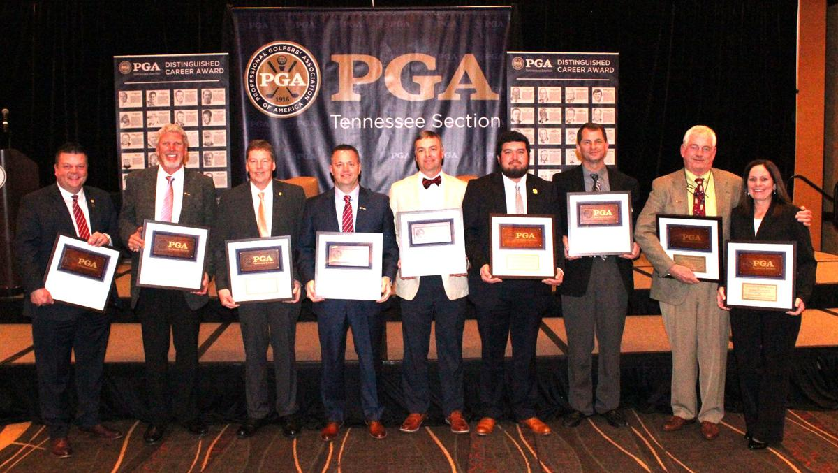 Houser, local pros honored by Tennessee PGA