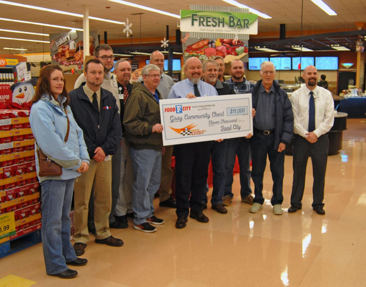 Food City hands out $67,500 in checks for Race Against Hunger - PHOTOS