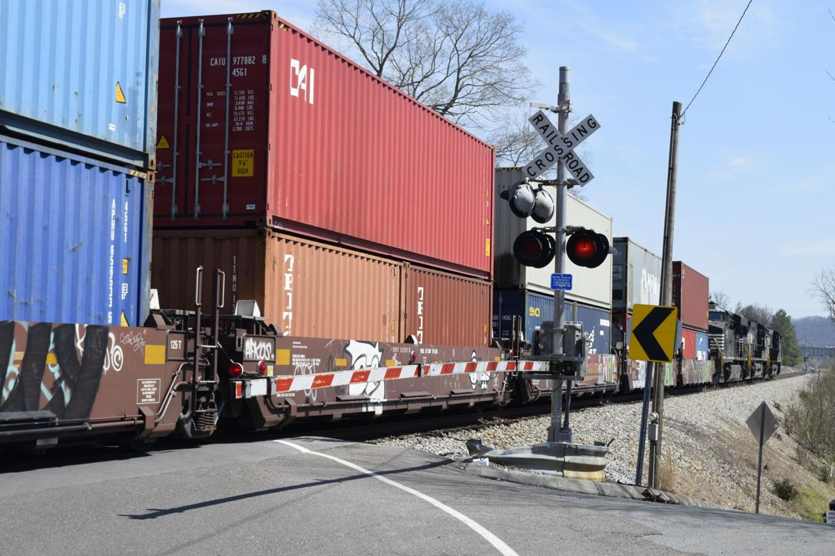 Pedestrian hit by train on McKinley Road