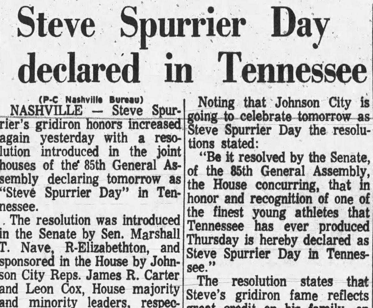 Steve Spurrier Day