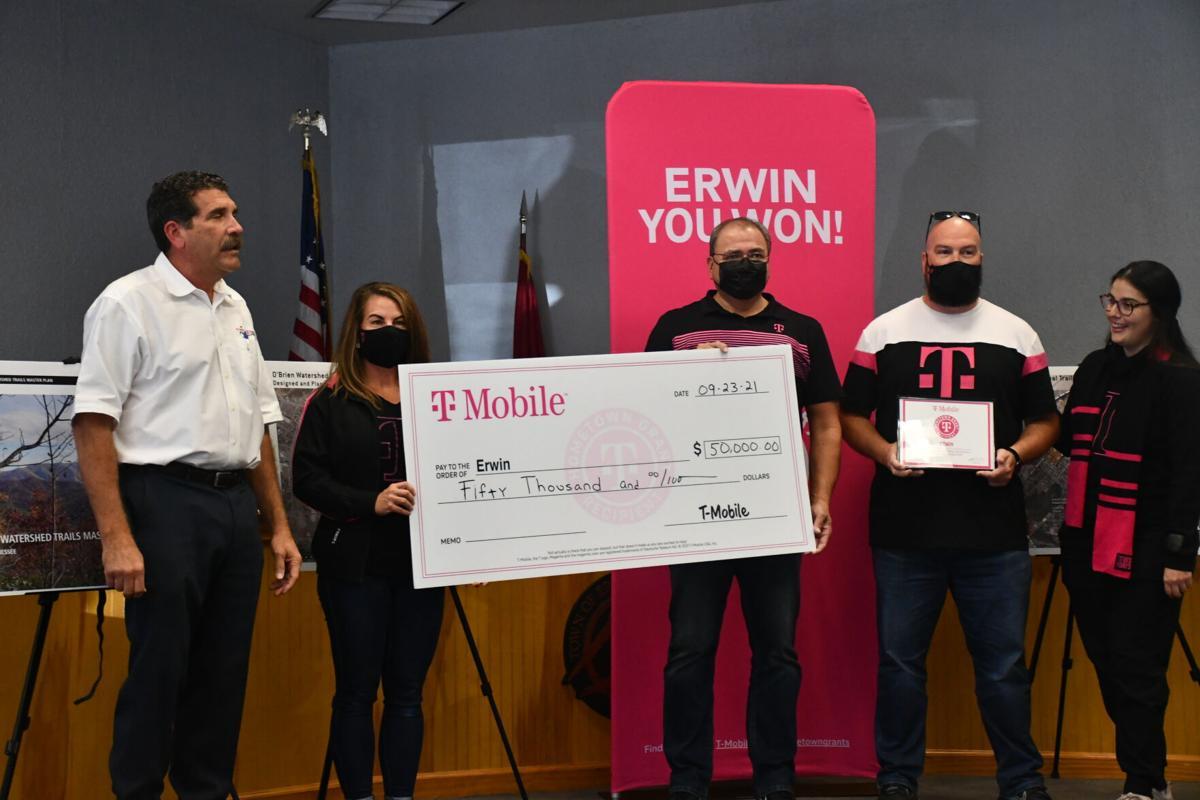 Erwin JEDB T-Mobile Grant
