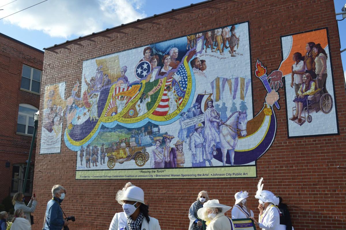 Women's Suffrage Mural
