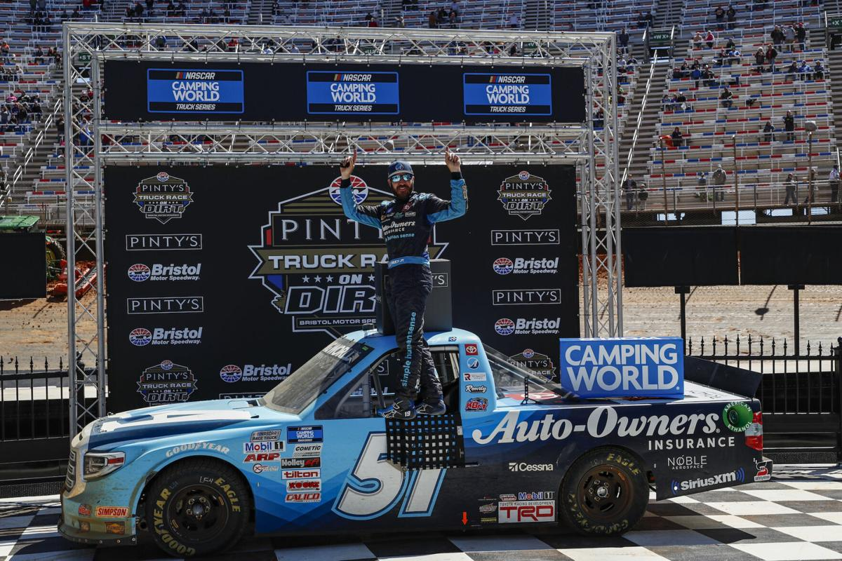 NASCAR Bristol Trucks Auto Racing
