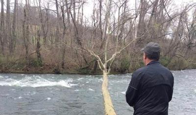 Fishing is serious business for Milligan's Robinson