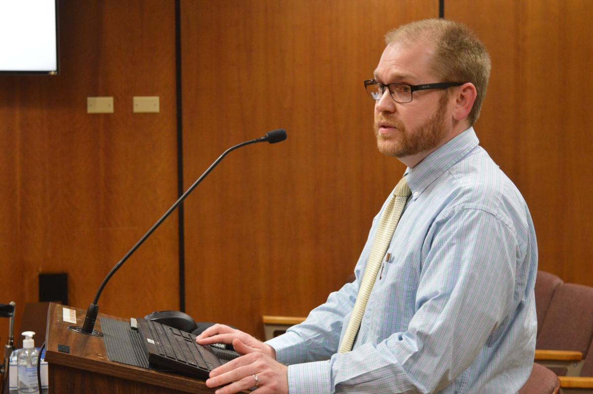 Budget Director Dustin Thompson