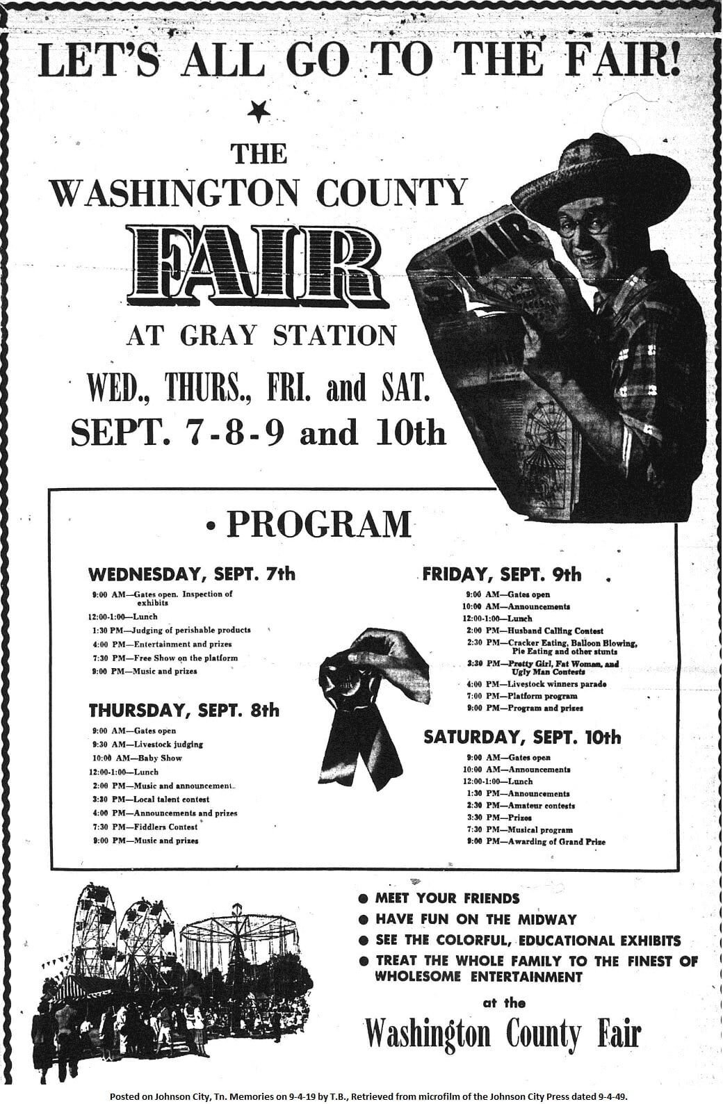The Washington County Fair 1949