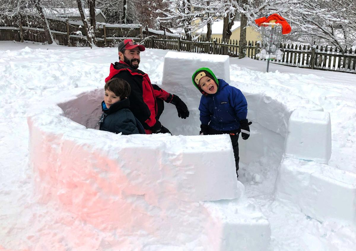Photos and video: The Igloo Project