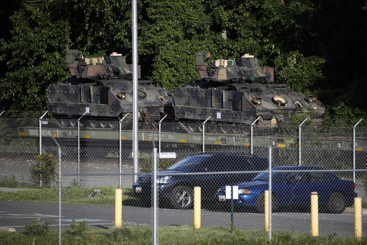 Trump says tanks will be part of his July Fourth celebration