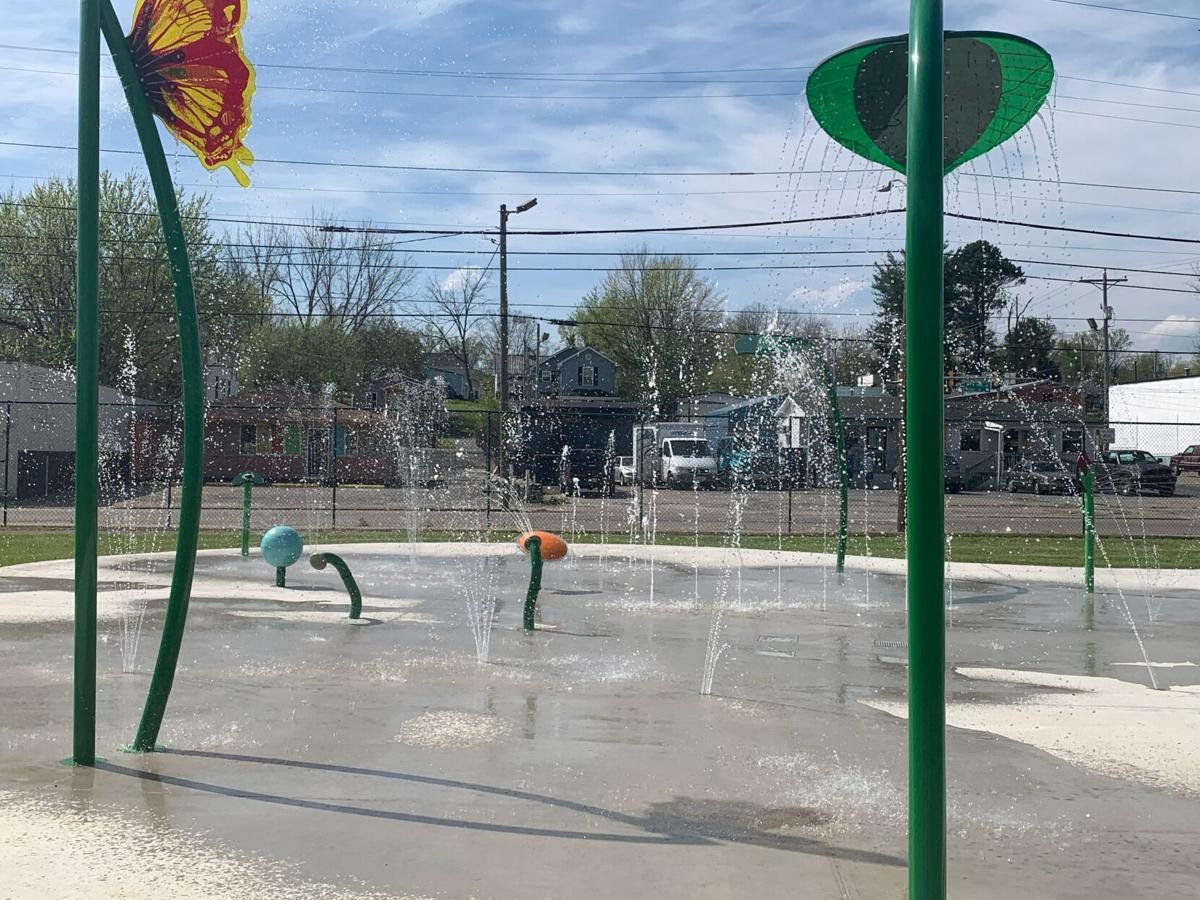 Carver Park splash pad 2