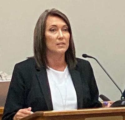 Carter County Mayor Patty Woodby