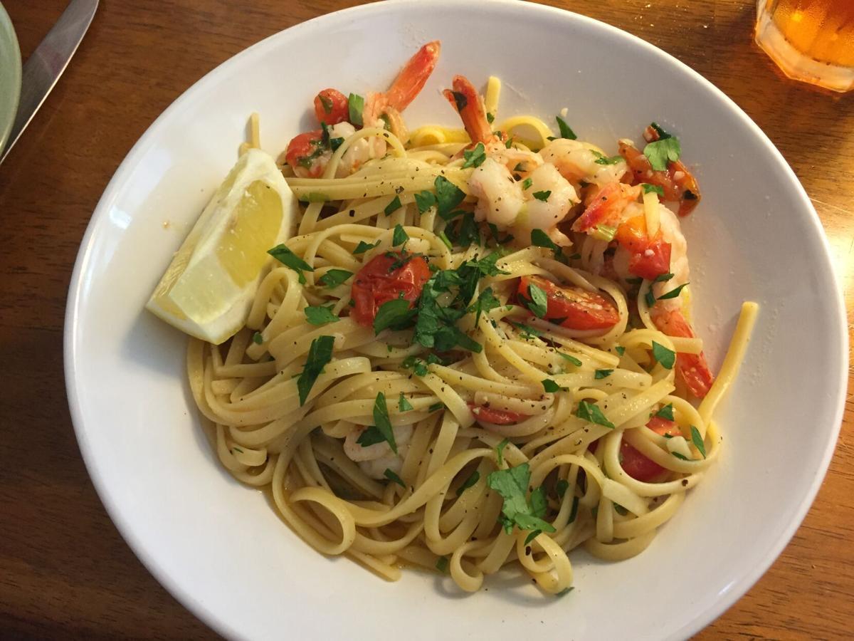 La Cucina Shrimp & Linguine.JPG