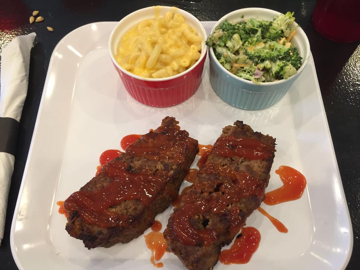JJ's Diner Meat Loaf platter