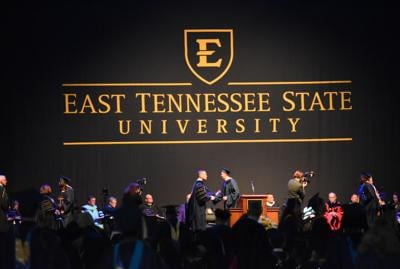 """""""I've done it"""": More than 2,100 students receive their degrees at ETSU's Commencement Ceremony"""