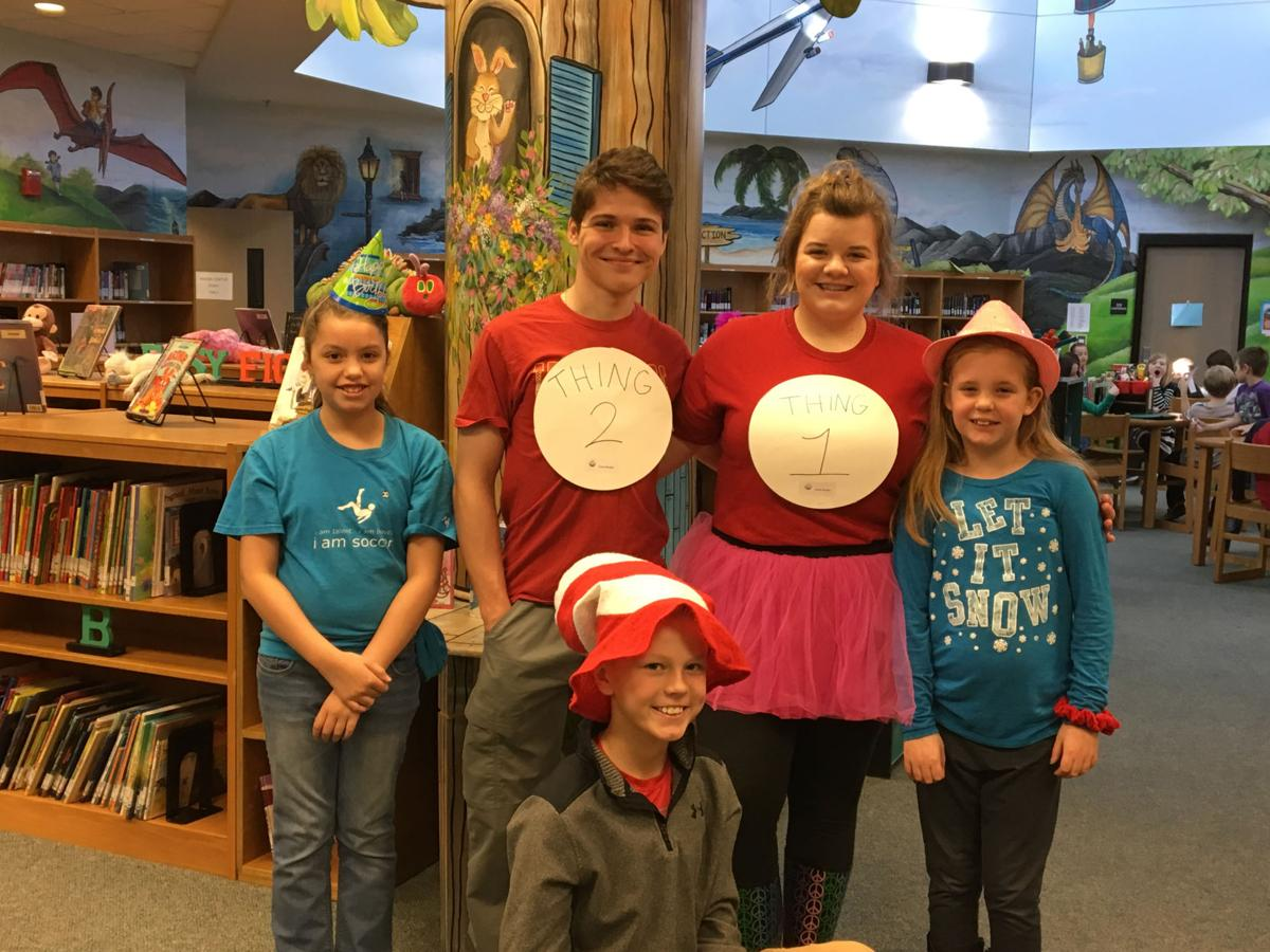 Ridgeview pays tribute to Seuss during week