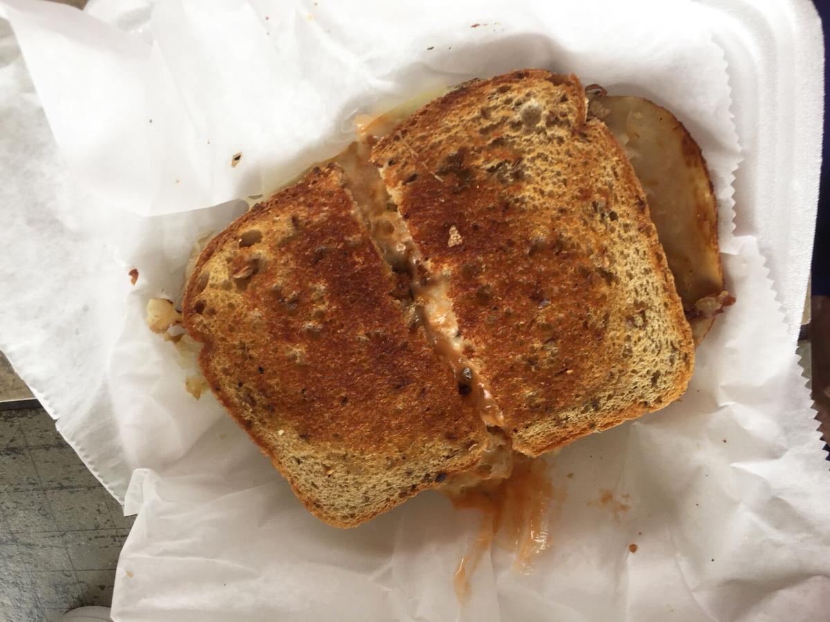 Whistle Stop Diner's Rachel Reuben sandwich
