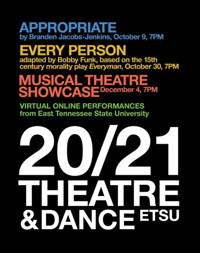 ETSU Theatre and Dance plans virtual performances for fall semester