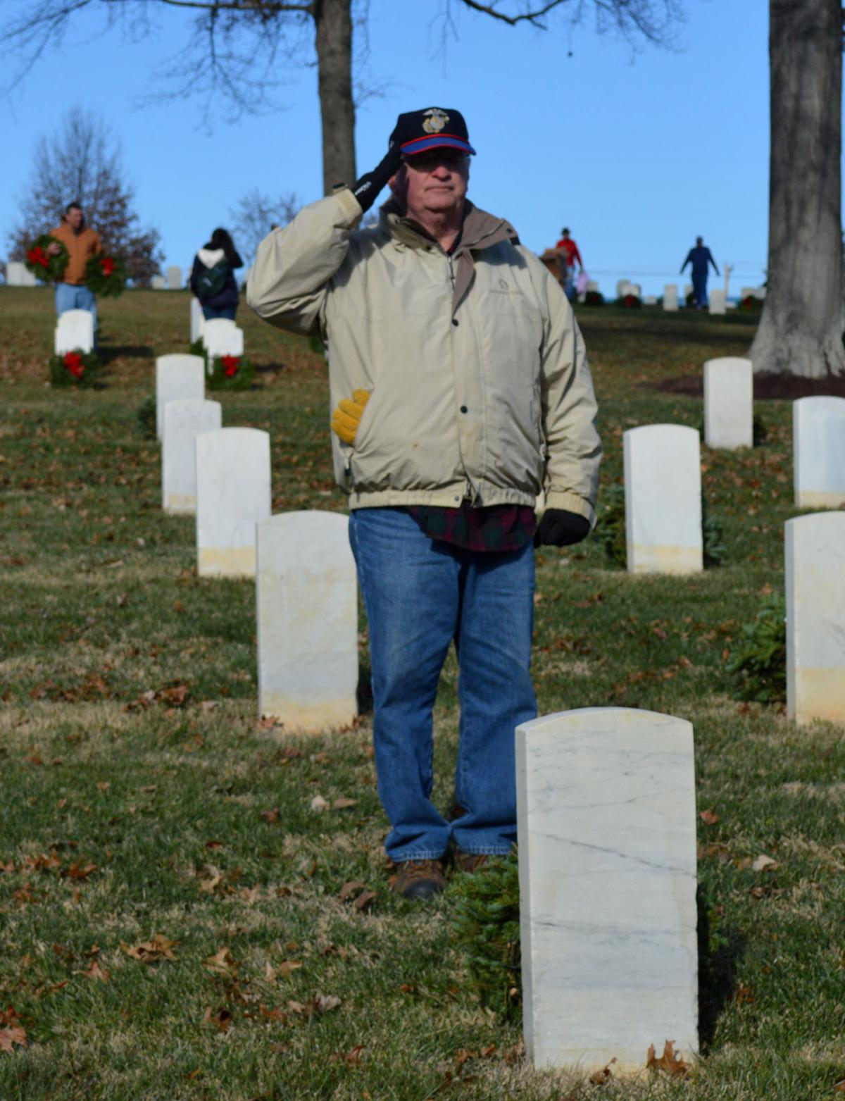 Wreaths for veteran graves now on sale