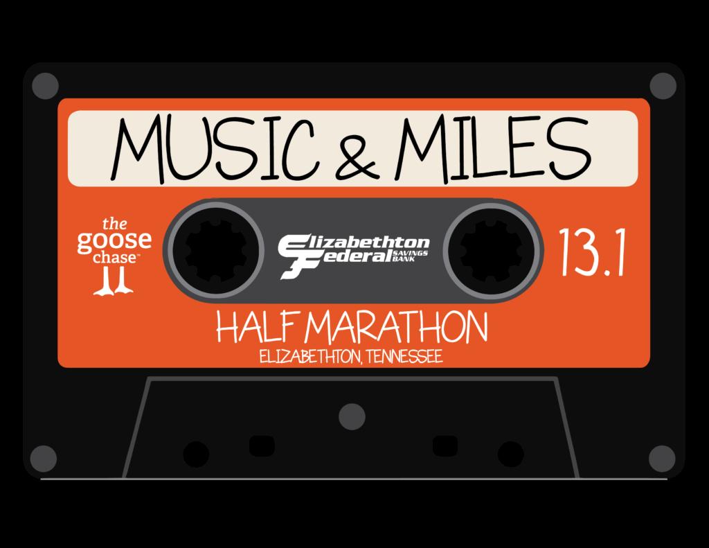 Music & Miles Half Marathon logo