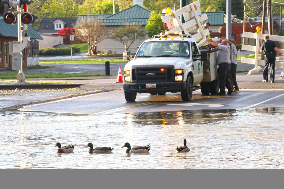 Northeast Tennessee flooded overnight, several roads impassable