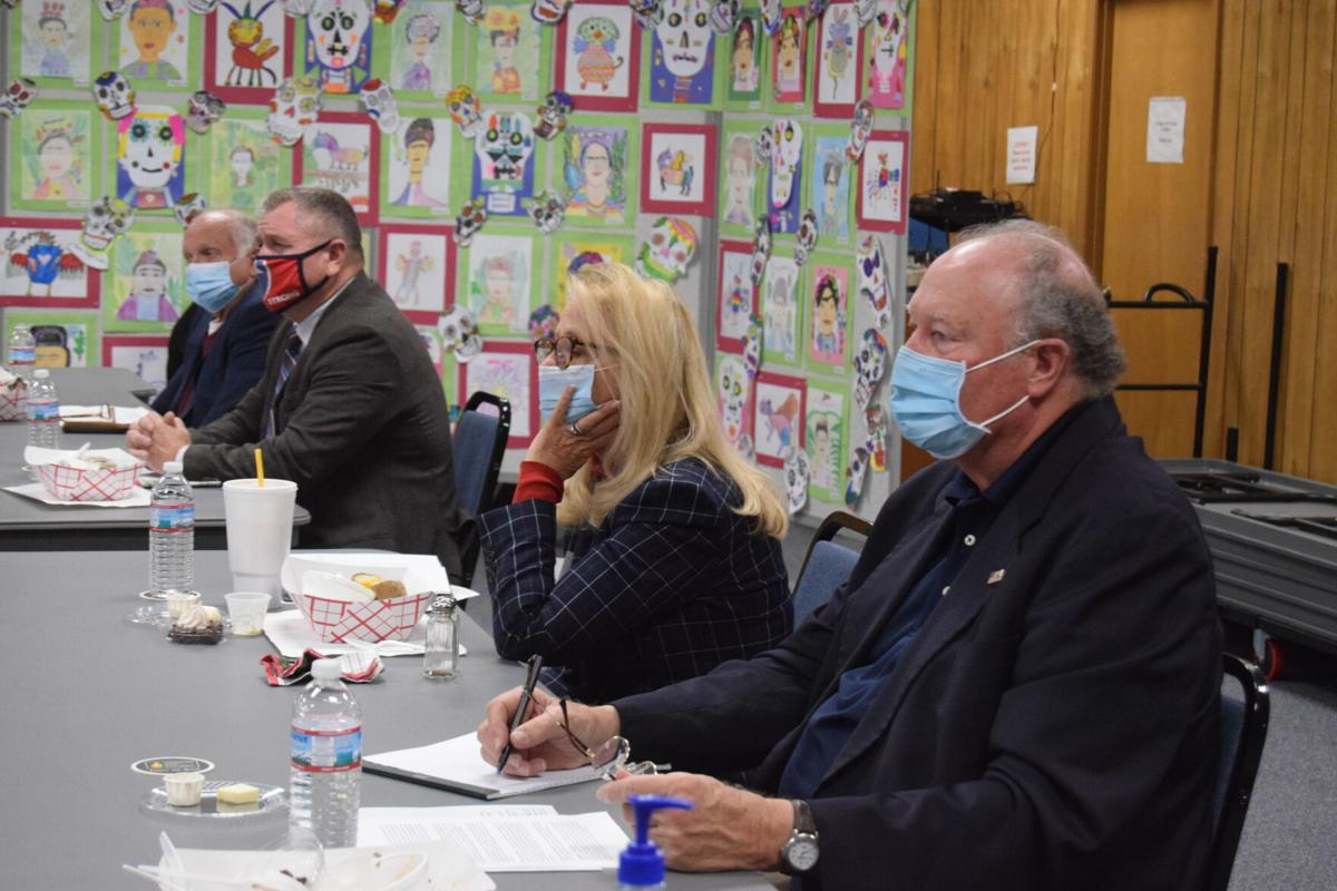 Legislators meet with city school board to discuss capital funding, student mental health