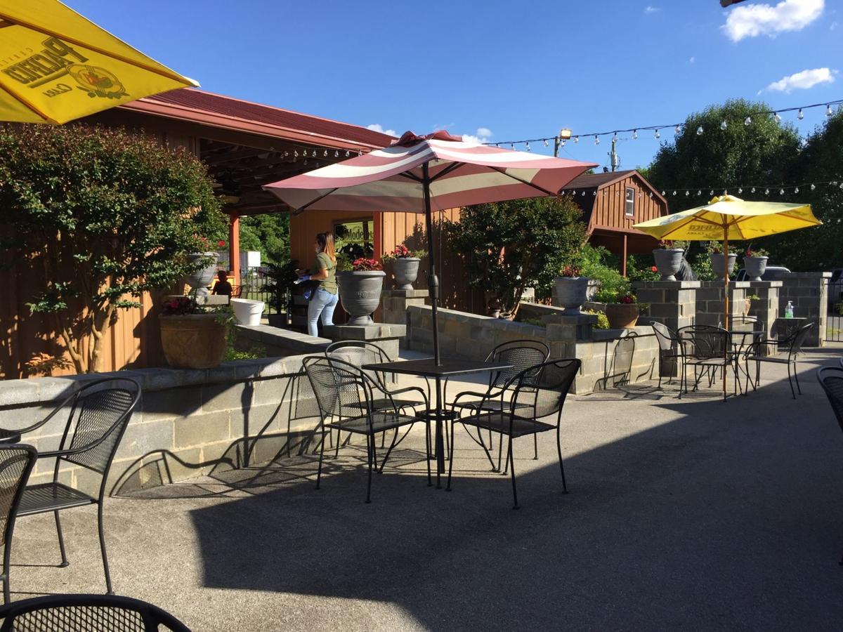 Vega's Patio & Pavilion dine-in facility