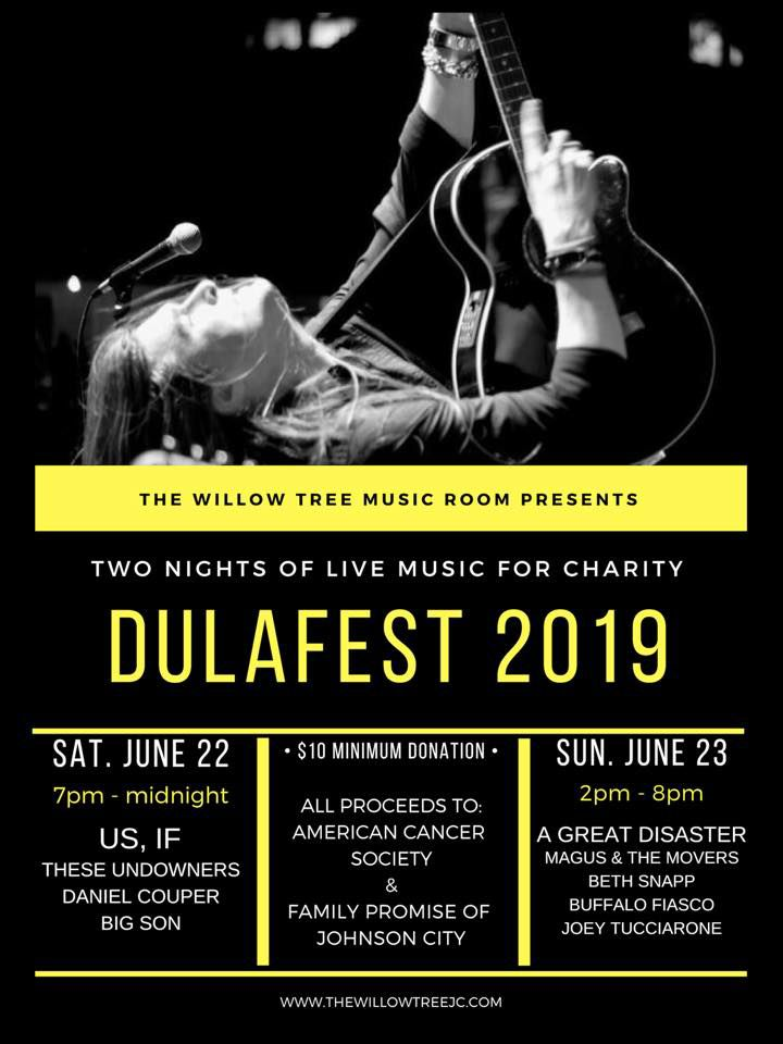 Dulafest 2019 set for weekend at Willow Tree