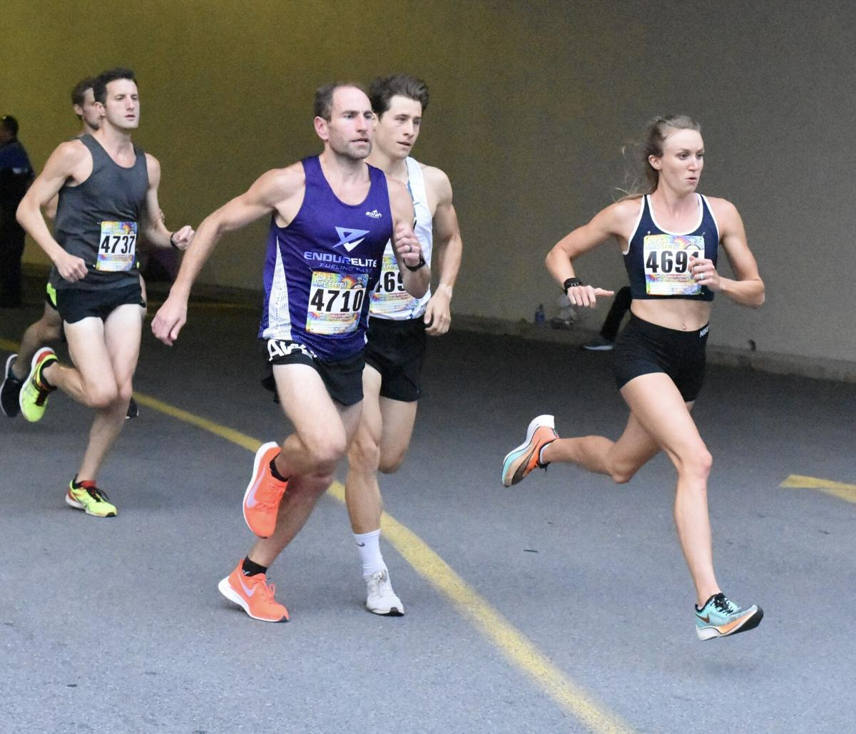 2020 Downtown Mile start