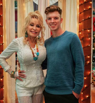 Dolly Parton and Ben Blevins