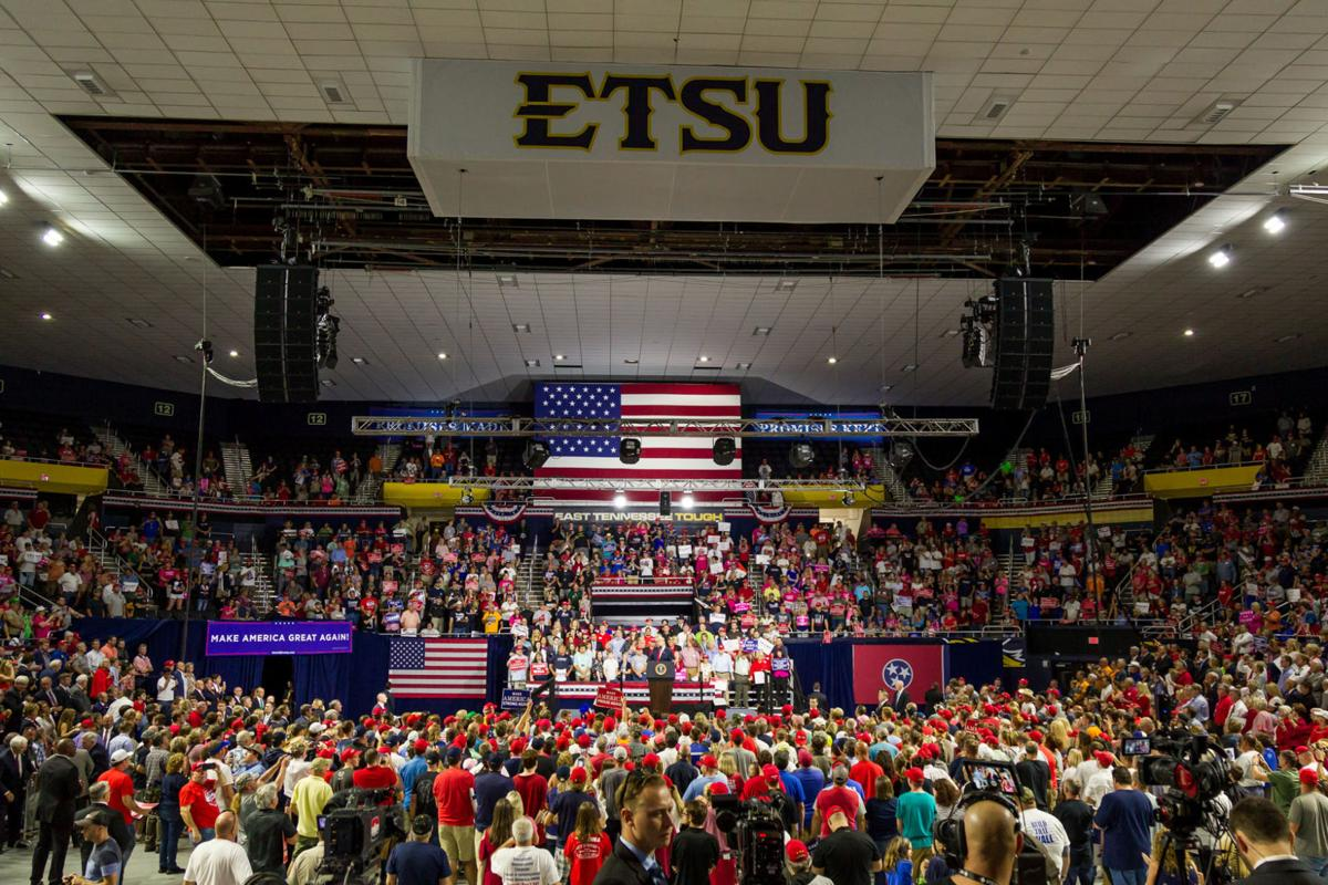 PHOTO GALLERY: Trump-Blackburn Rally