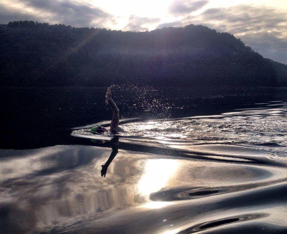 ETSU psychology professor to attempt marathon Watauga Lake swim Saturday
