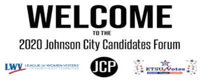 Video: Johnson City Commission Candidate Forum