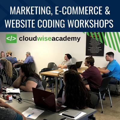 Marketing, e-commerce & website coding workshops