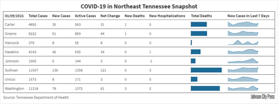 Daily COVID-19 data