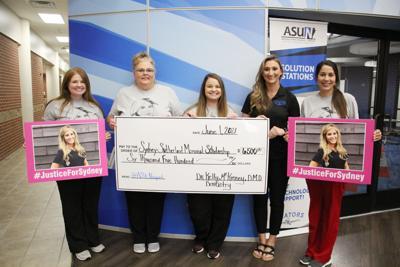 Newport dental office raises money for Sydney Sutherland Memorial Scholarship