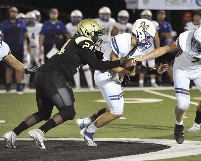 Front four leads improving Raider defense