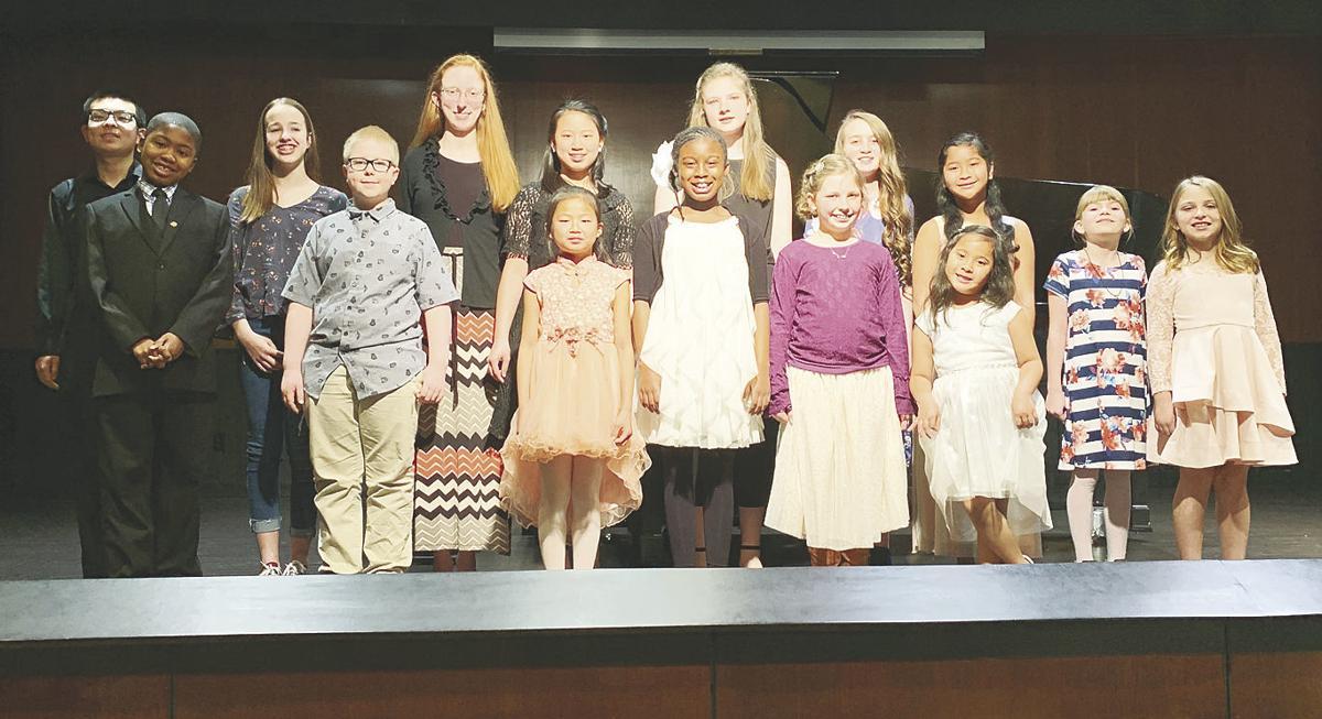 Second honors recital