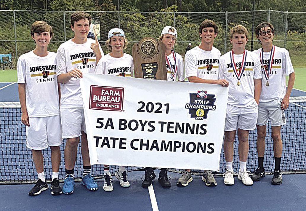 Jonesboro sweeps 5A tennis for fifth straight year