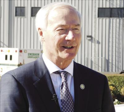 Governor visits Jonesboro