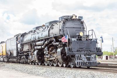 Historic Big Boy engine to stop in Tuckerman Friday