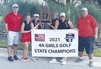 Lady Bearcats win third straight state title