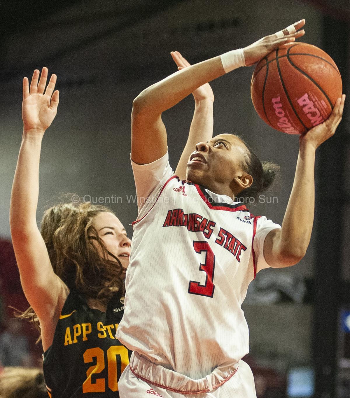 Gallery Arkansas State Women S Basketball Vs Appalachian State 2020 Multimedia Jonesborosun Com