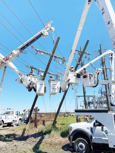 Electric Cooperatives dispatch second wave to Louisiana