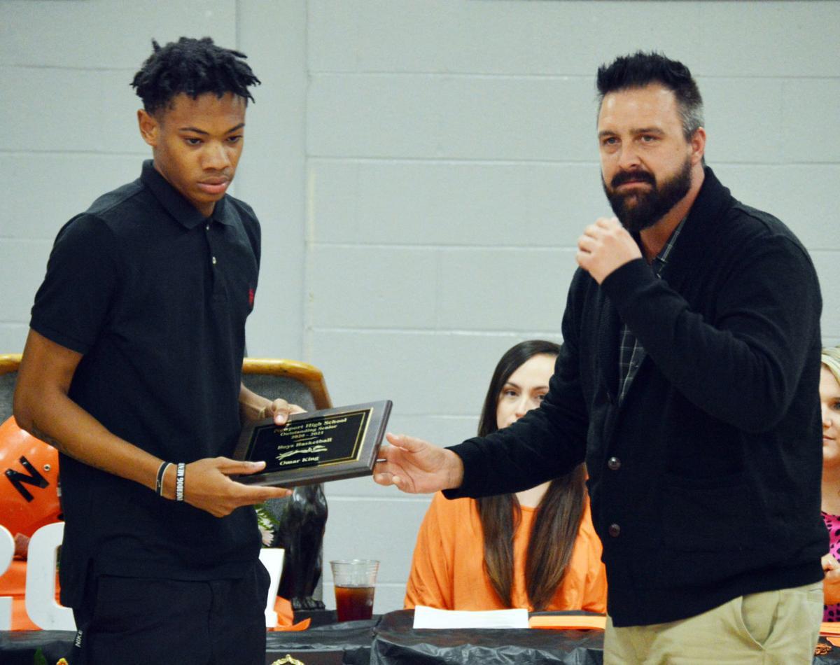 2020-2021 Newport High School Athletic Awards Banquet