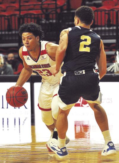 Balado hoping Red Wolves will pick up pace