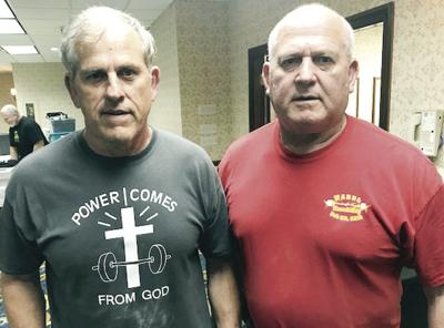 Brothers compete in weight lifting event