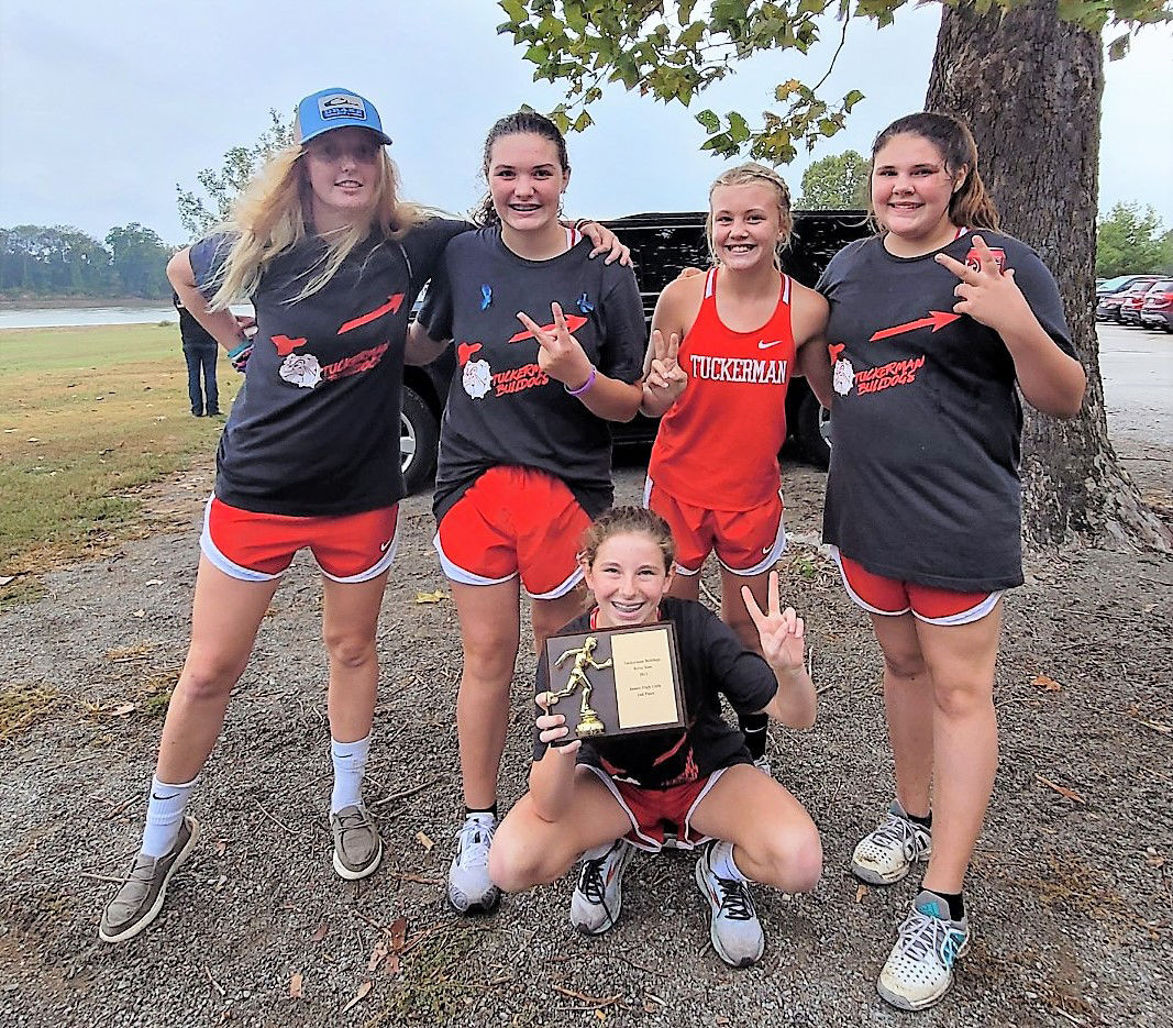 Tuckerman High School hosts first cross country race