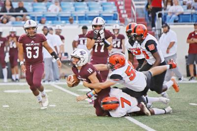 Greyhounds fall to number one Prescott